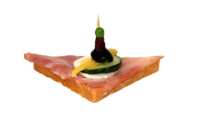 Canape Schinken – Halb | Cafe Koller AG