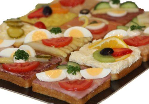 Canapes Platte - Ganz | Cafe Koller AG