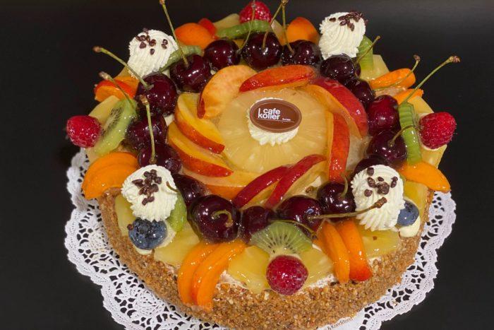 Fruchttorte Biskuit 10 Personen | Cafe Koller AG