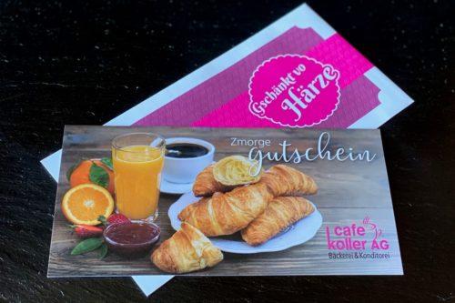 Frühstück Gutschein | Cafe Koller AG