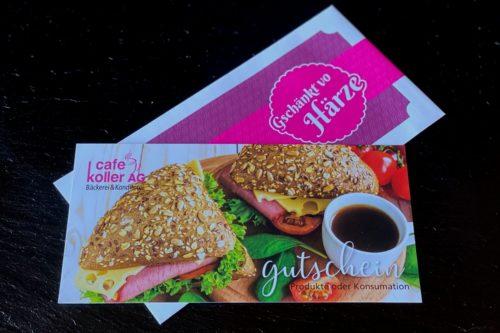 Gutschein | Cafe Koller AG