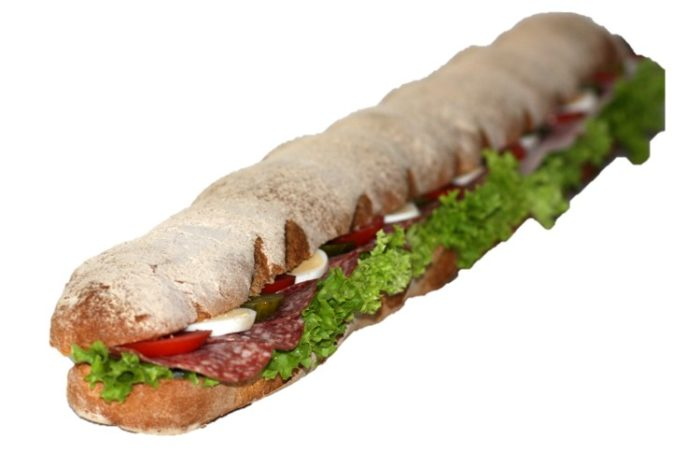 Sandwich am Meter | Cafe Koller AG